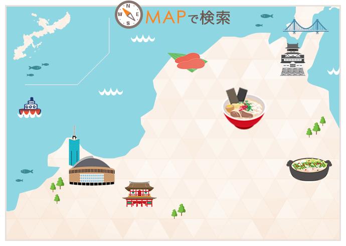 福岡エリアマップ