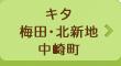 キタ(梅田・北新地・中崎町)